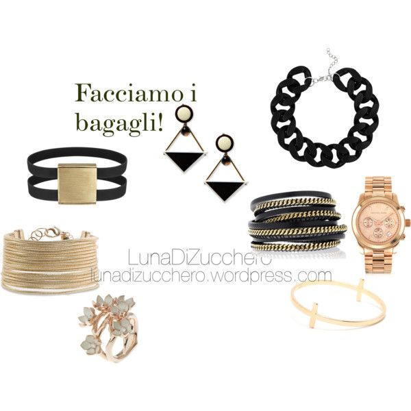 A fashion look from August 2013 featuring With Love From CA bracelets, MANGO bracelets and LK Designs bracelets. Browse and shop related looks.