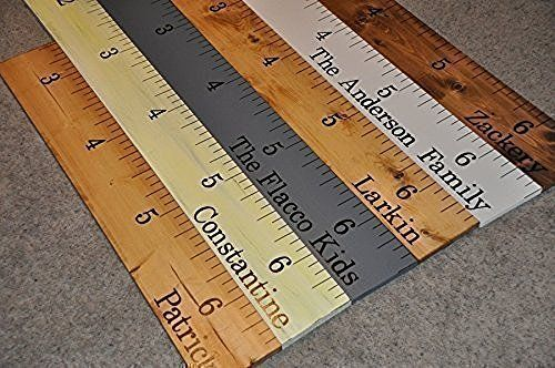 5000 Sold! **20+ Styles** Life-size growth chart rulers for measuring kids' height!
