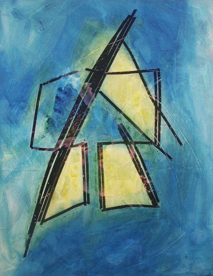 Ambrosio Paolo, Tempo inerte, 1990-0545, Tecnica mista su tela, cm. 150x118
