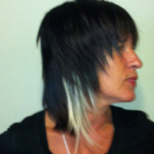 Racoon extensions adding length and colour interest