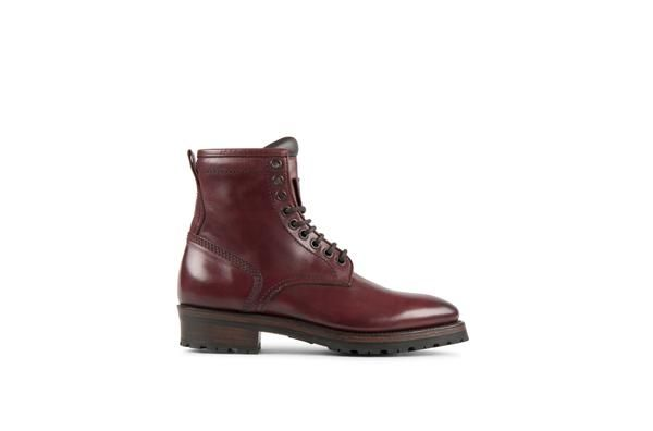 Project Twlv  Royal Burgundy  Cordovan Leather Goodyear Welted