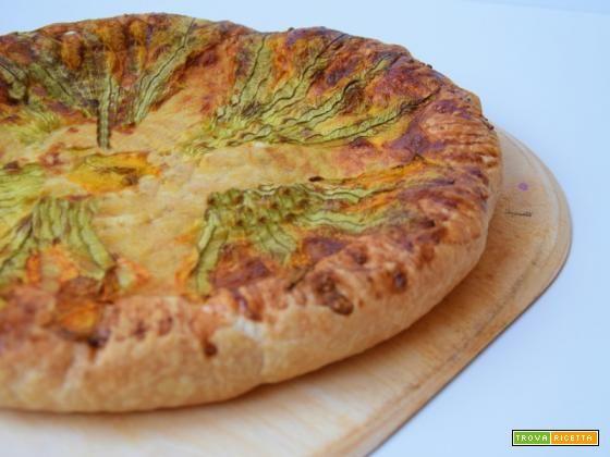 Rustico Fiori di zucca  #ricette #food #recipes