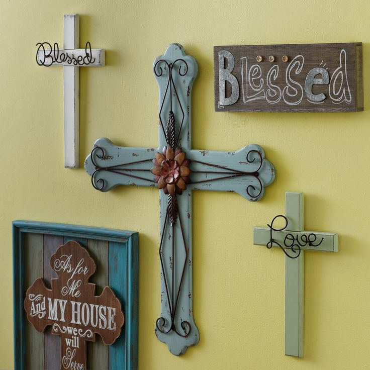 298 best Crosses images on Pinterest | Crosses, Painted canvas and ...
