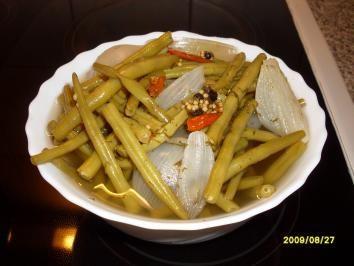 Rezept: Grüne Bohnen süß/ sauer eingelegt Bild Nr. 2