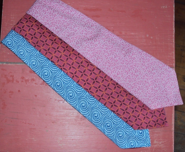 100% cotton Shweshwe ties - Product of the Eastern Cape, South Africa