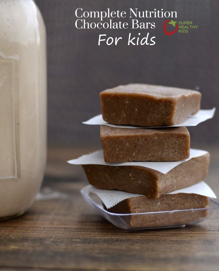 Complete nutrition bars for kids - great for breakfast or snacking!