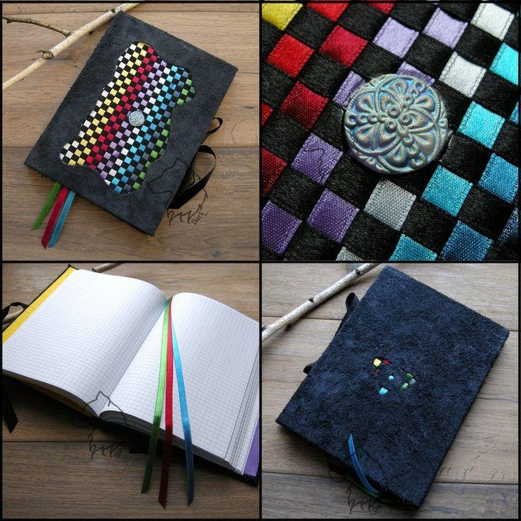 Spectrumbook - handmade notebook by Dark-Lioncourt.deviantart.com on @DeviantArt