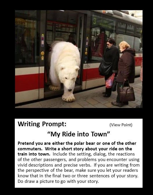 picture writing prompt: point of view