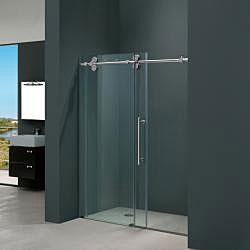 vigo 72inch frameless sliding glass shower door by vigo
