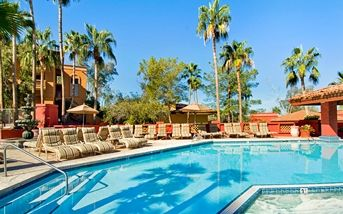 Mountainside Pool resort AZ