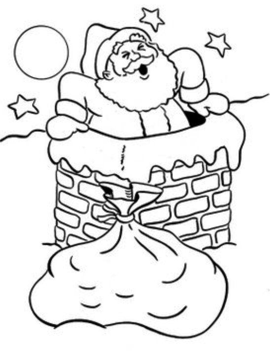 123 Best Christmas Santa Down The Chimney Images On