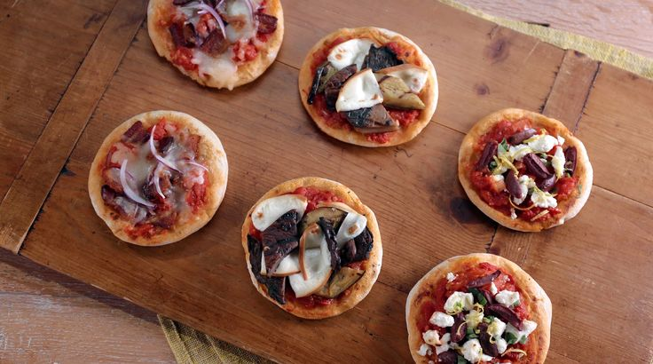 Get this quick and easy pizza recipe by Laura Vitale from Simply Laura.