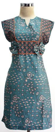 Modern Batik Dress Indonesia