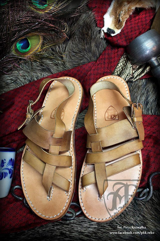 Leather sandals DYE  www.facebook.com/pkk.reko