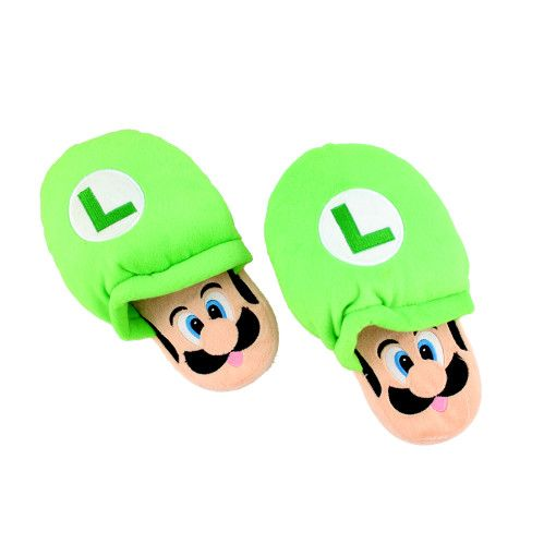 I am Luigi Slippers #Colorize #Slippers