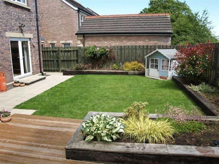 100 Rosses Farm, Ballymena garden Small garden design