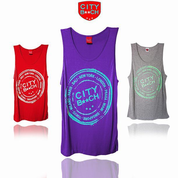 CITY B**CH SINGLET COLLECTIONS