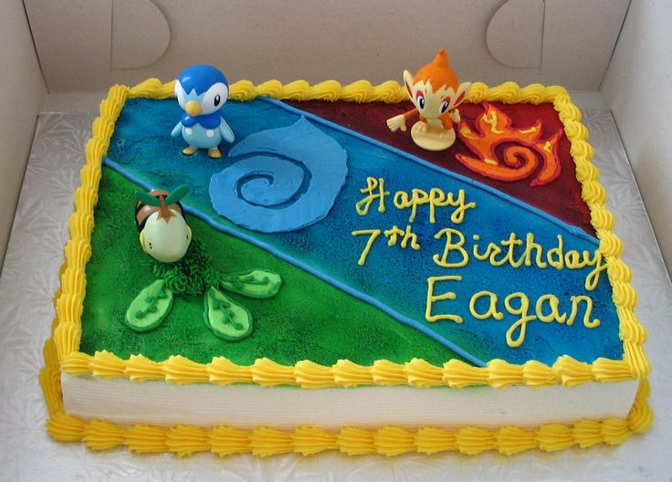 pokemon cakes   Pokemon Cakes – Decoration Ideas