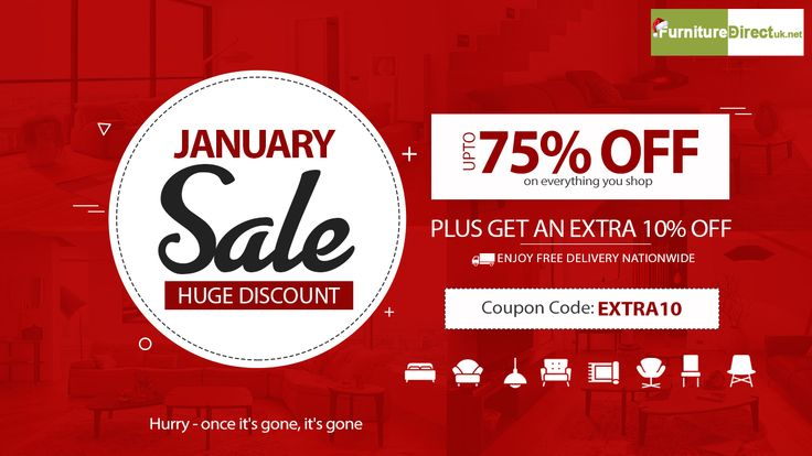January Furniture Sale & Deals 2018 UP TO 75% + FLAT 10% OFF on Dining room, Living room and #bedroom  #furniture  #january  #furnituresale