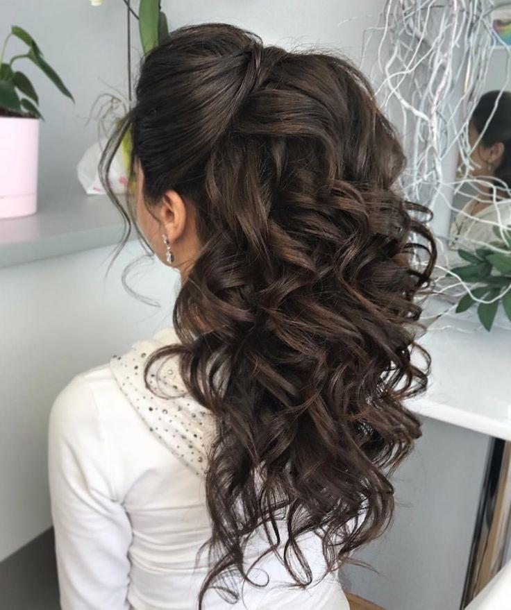 Bridesmaid Hair Brunette #Bridesmaid Hair # Brunette - Bridesmaid Hair #Bridesmaid Hair #Bridesmaid