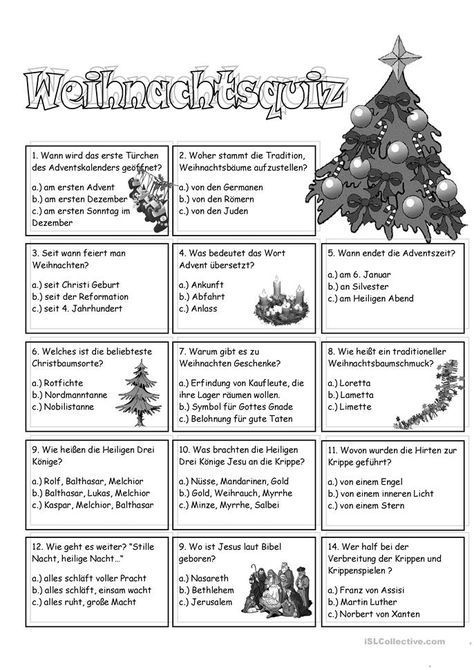 weihnachtsquiz adventskalenderinhalt weihnachtsquiz
