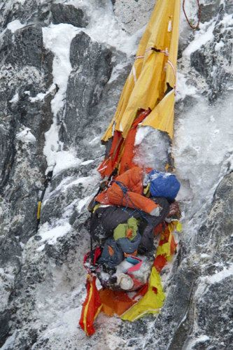 Mount Everest Victim | The body of a fallen climber. | historicalbodies | Flickr