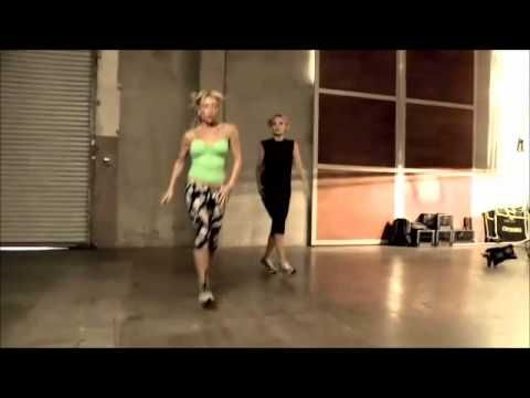 my FAV trainer everrr (Tracy Anderson) my 2 fav things, Dance and working out :)..I used to know this routine, ill have to go over it a few times to get it down. self reminder: buy dvds and have fun :)