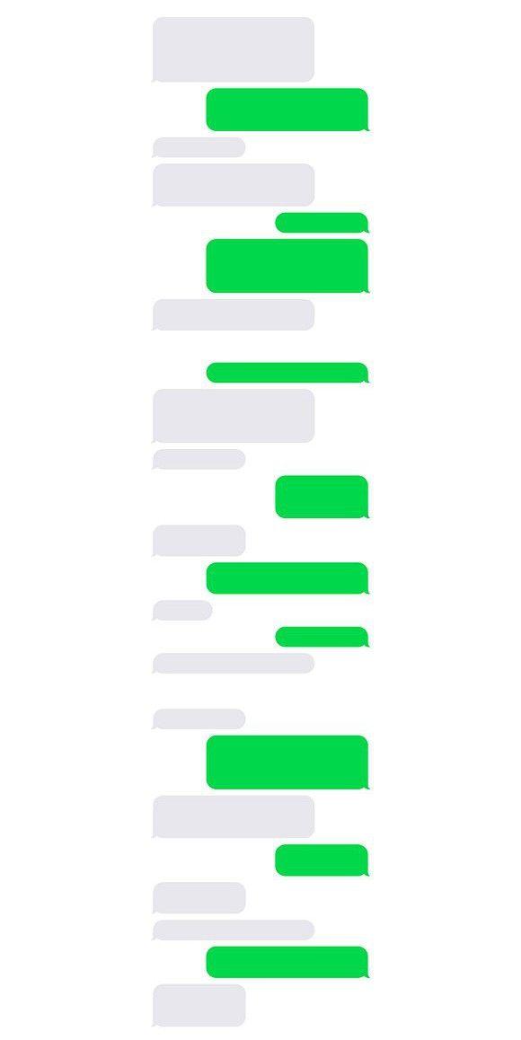 Sms Blank Bubbles Set Text Bubble Iphone Text Bubble Text Message Bubble