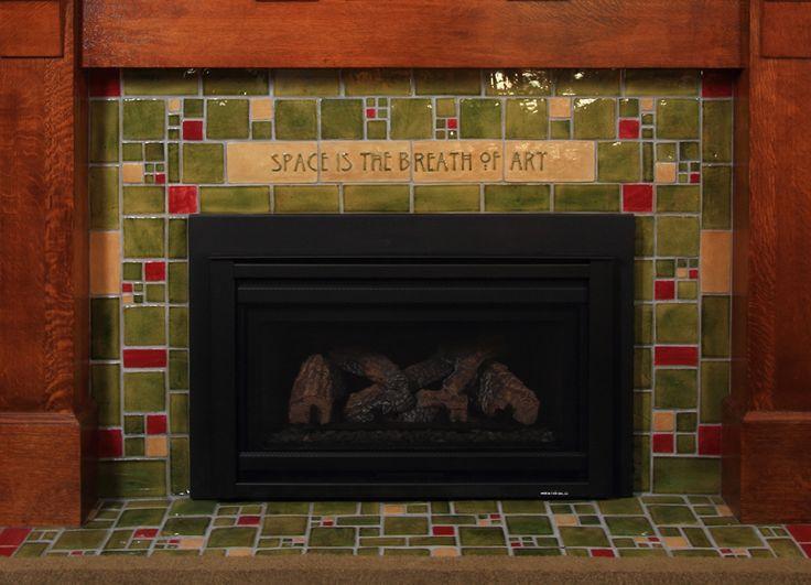 21 best Arts & Crafts:Fireplaces images on Pinterest | Craftsman ...