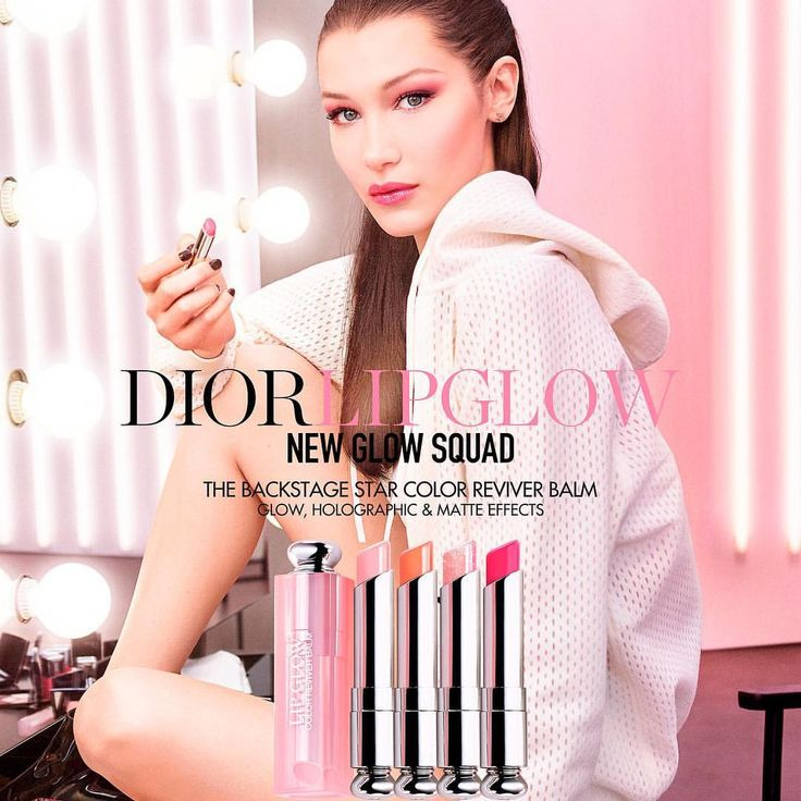 """6,684 Likes, 26 Comments - Hadid News (@hadidnews) on Instagram: """"#BellaHadid for Dior's Lip Glow campaign. """""""