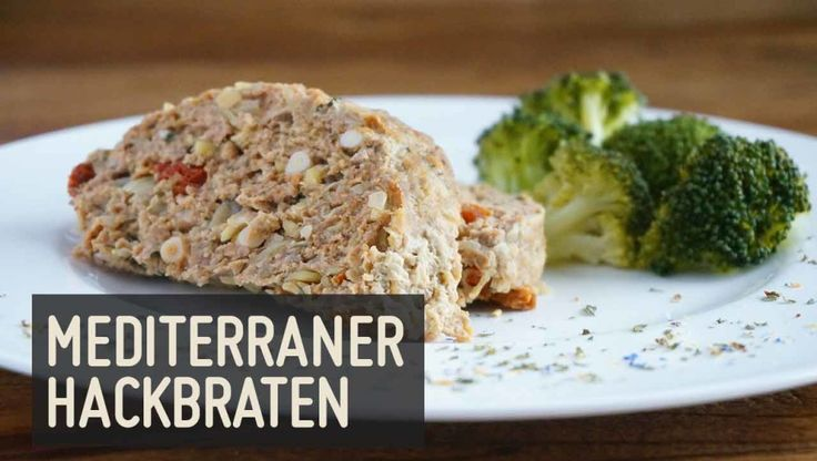 Mediterraner Hackbraten – Paleo360.de