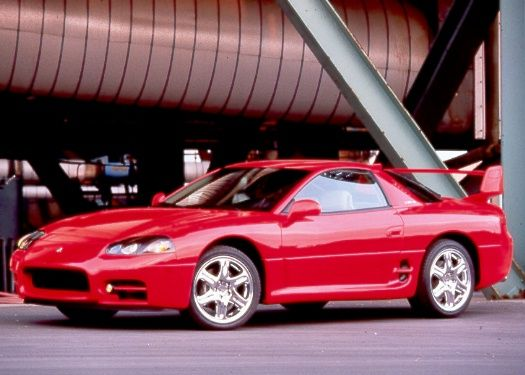 Mitsubishi 3000GT. Known as the GTO in some markets.