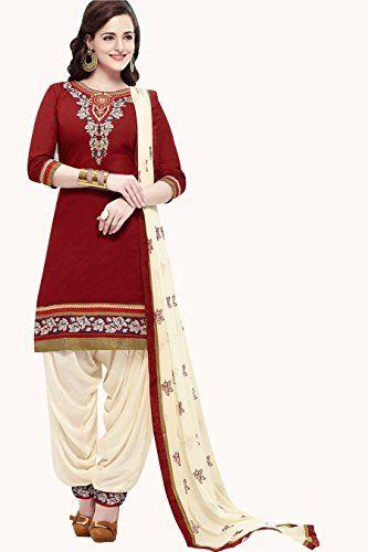 new maroon creme cotton punjabi patiala suit dress materi... http://www.amazon.in/dp/B01H3CF7GE/ref=cm_sw_r_pi_dp_tsuyxb19YXKXV