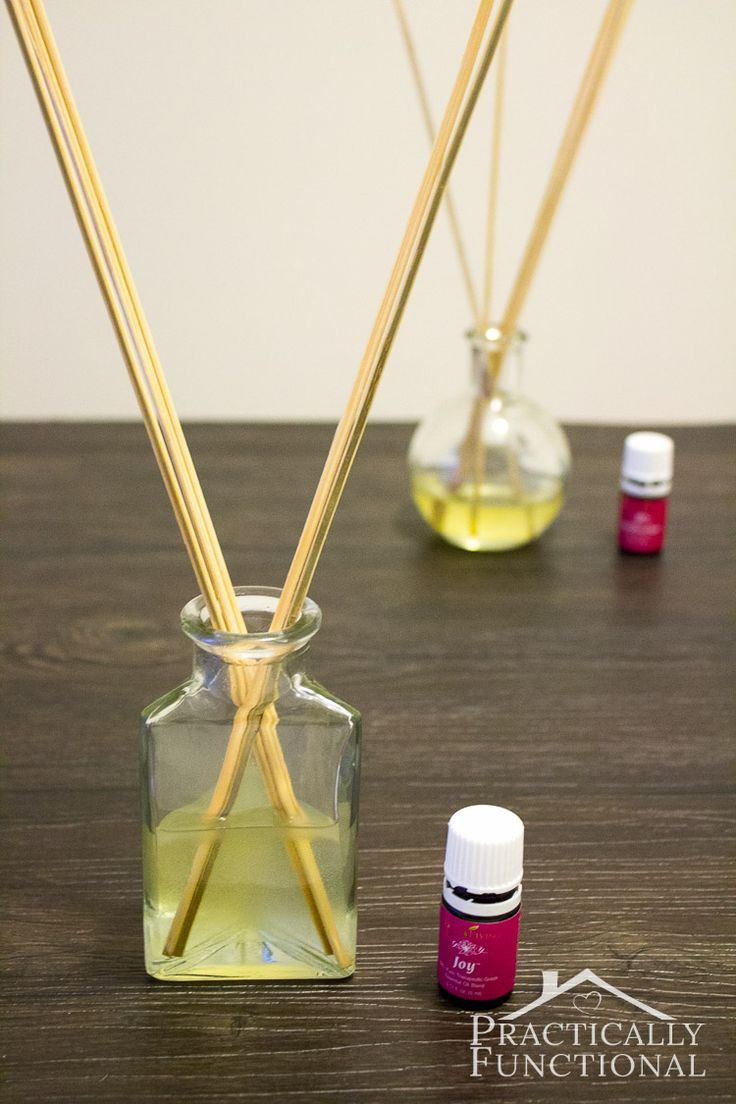 How To Make Your Own Reed Diffuser: Reed diffusers are cheap and easy to make, and they'll make your house smell wonderful!