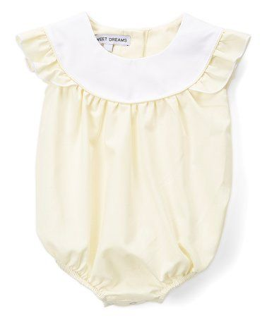 bcb71473669 This Yellow Field Bubble Romper - Infant is perfect!  zulilyfinds ...