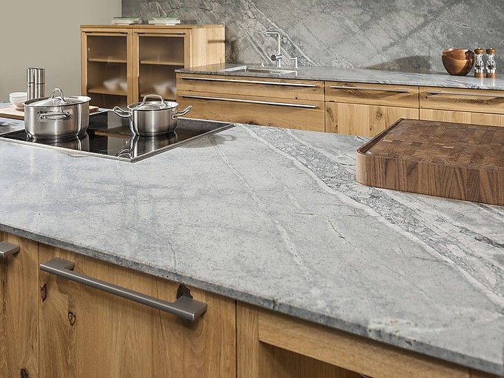 Bildergebnis Fur Kuchenarbeitsplatte Granit Hellgrau Kuche