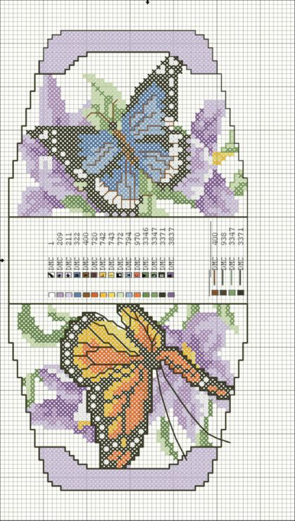 Cross-stitch Butterfly purse... Gallery.ru / Фото #6 - сумочки игольницы - irisha-ira