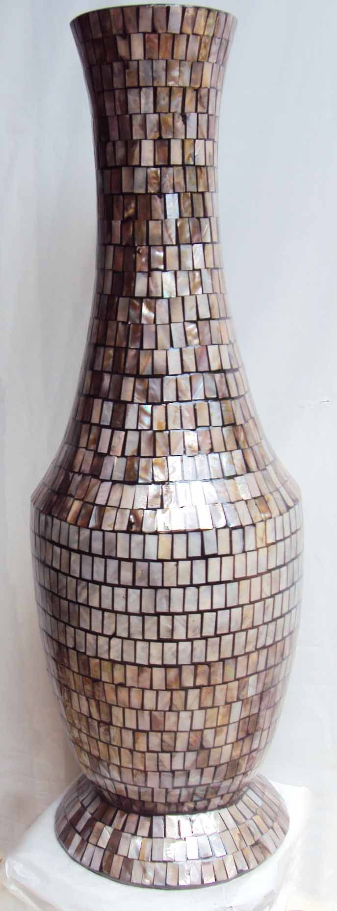 7 best mother of pearl vase images on pinterest flower vases bamboo vase with mother of pearl shell mosaiced and lacquer painting coated reviewsmspy