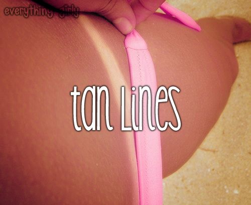 I love the summer, but I hate tan lines!