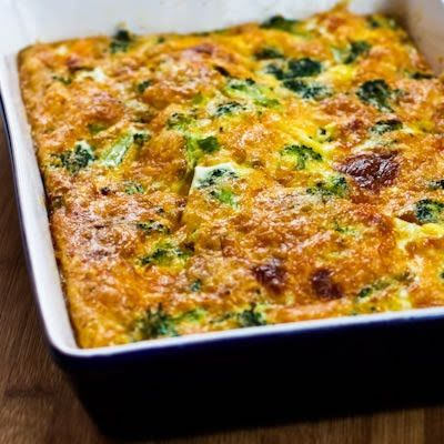 This Broccoli Cheese Breakfast Casserole is adapted from a recipe my Grandma Denny used to make, and Grandma was the best cook I knew in those days.