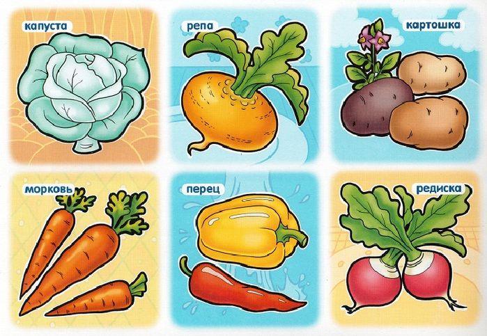 Овощи картинки для лото