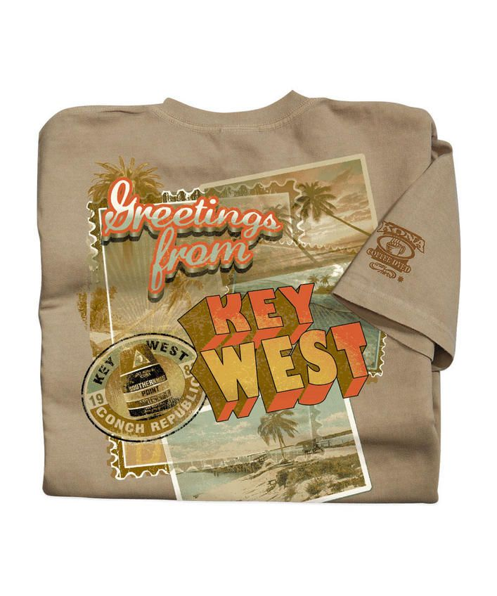 Greetings From - Kona Coffee-Dyed The Classic Crew