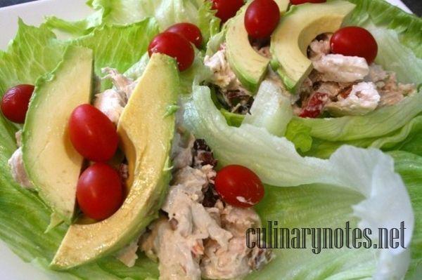 Как приготовить роллы с салатом из курицы и авокадо