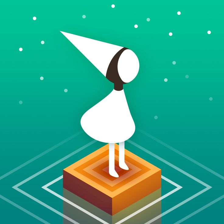 Monument Valley app icon
