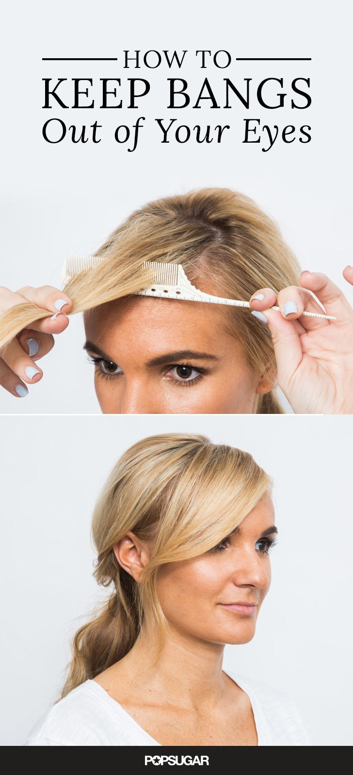 Summer brings out the worst in everyone's hair! But if these hair tricks can hold up at swimsuit shoots on the beach, then they'll do the job for you, too! You'll be amazed at the time you'll save on styling with the two-minute updo and five-minute blowout secrets!