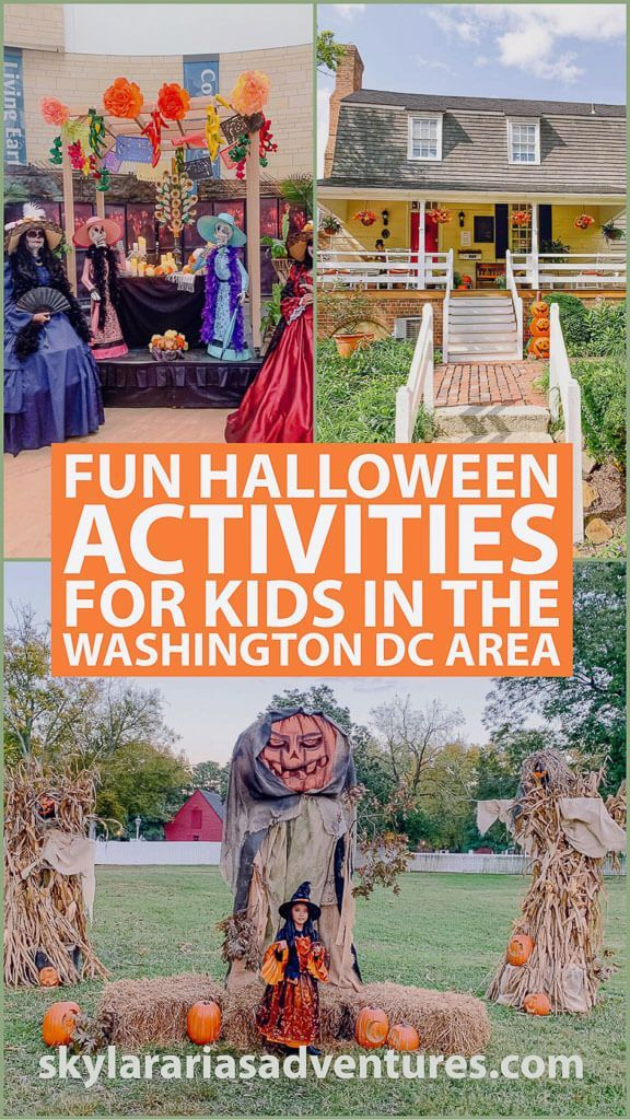 Halloween 2020 Dc Area Events Fun Halloween activities for kids in the Washington DC area