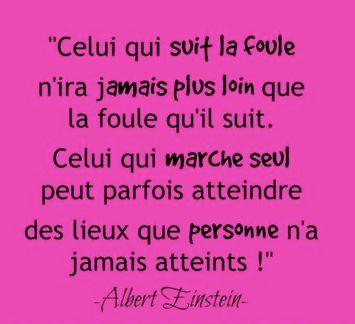 #Citation de Albert Einstein