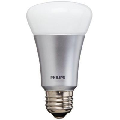 philips hue 60w equivalent a19 single led light bulb 431650 the home depot home automation. Black Bedroom Furniture Sets. Home Design Ideas