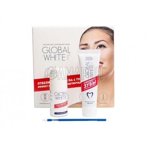 Система для отбеливания зубов на 4 тона Global White
