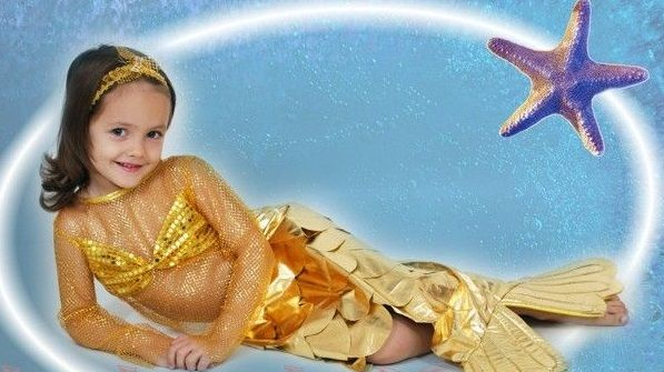 своими руками, ребенок, малыш, костюм Золотой Рыбки, ребенка, новогодние костюмы своими руками